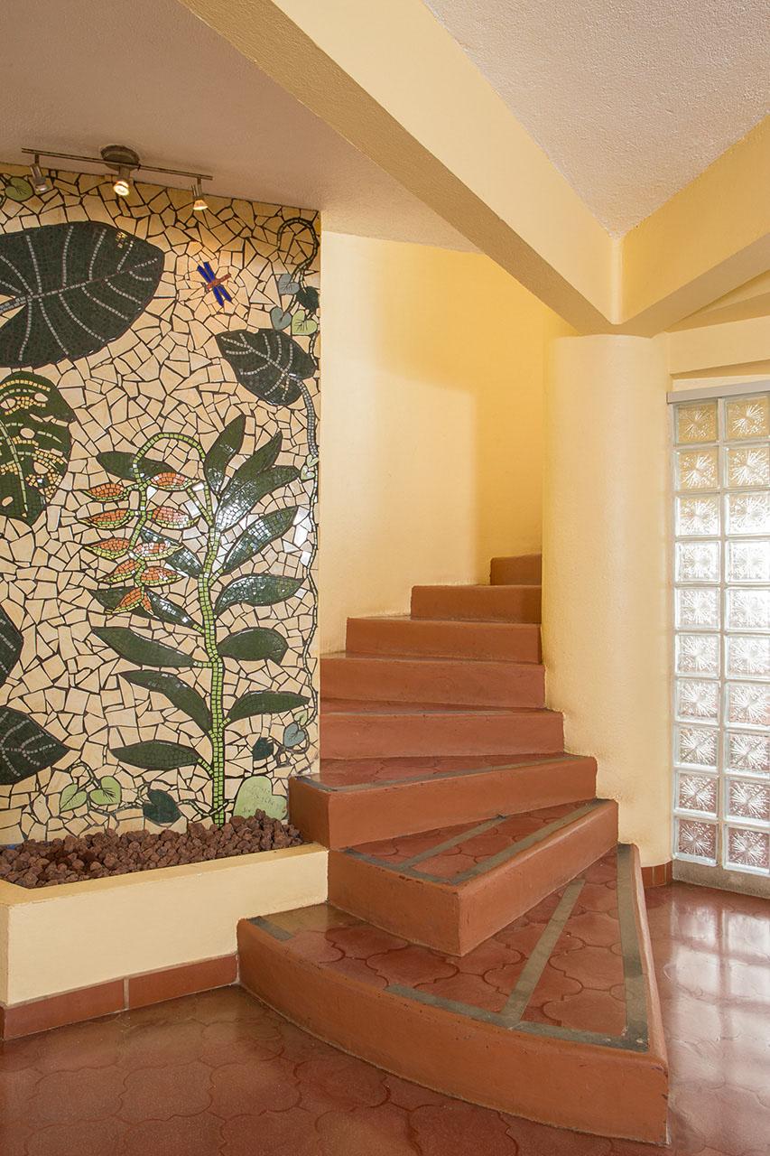 El Velero Hotel Stairway