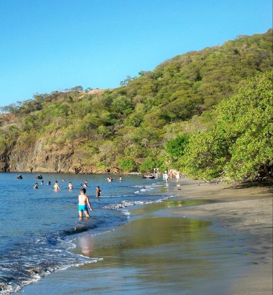 Beautiful Playa Hermosa beach