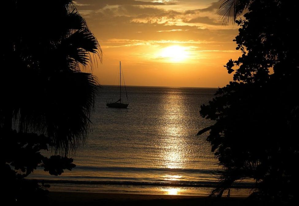 Sunset at El Velero Hotel