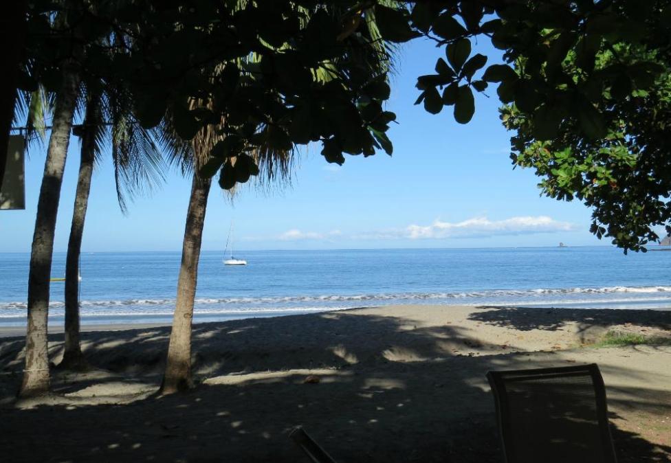 Beach at El Velero Hotel