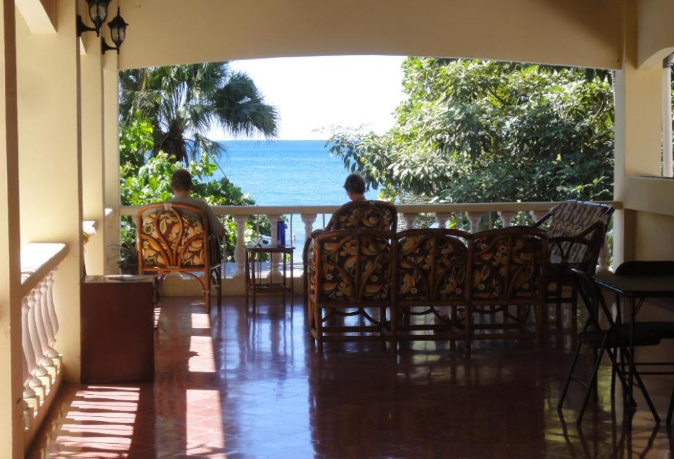 Balcony at El Velero Hotel