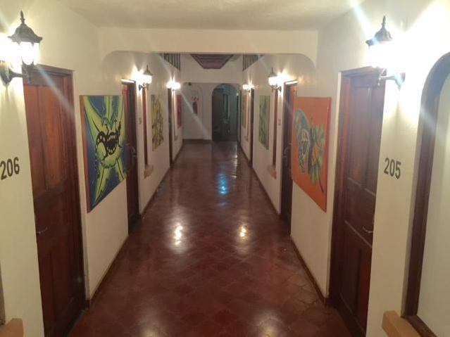 Hallway at El Velero Hotel