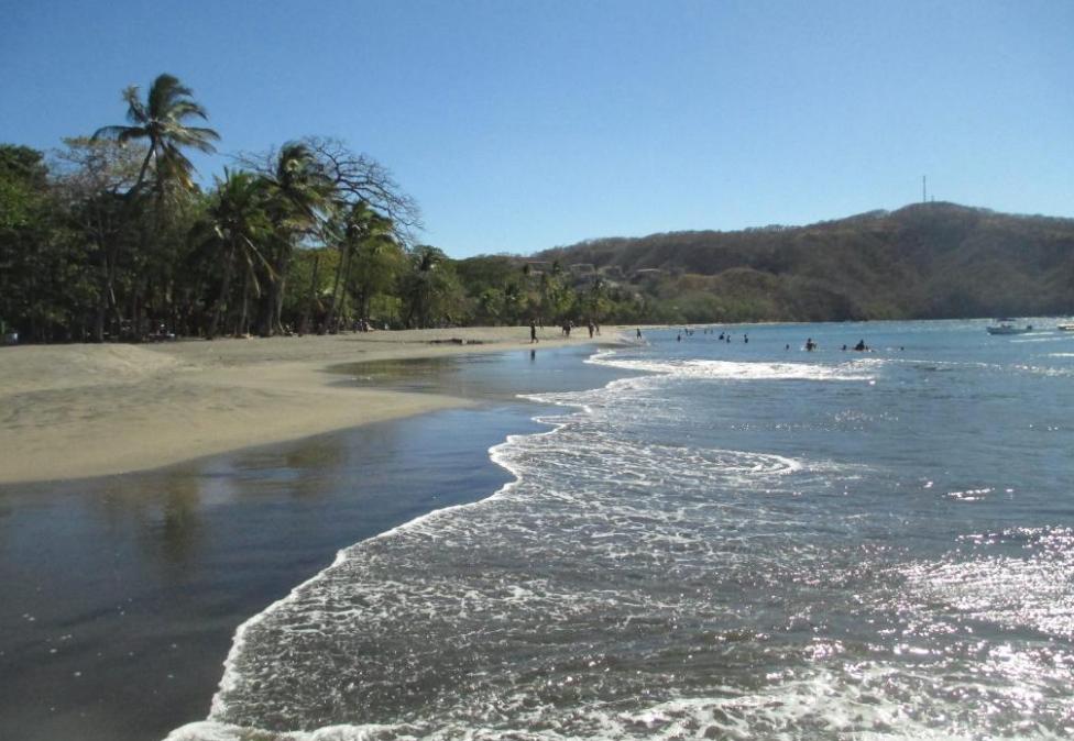 Beautiful beach at El Velero Hotel