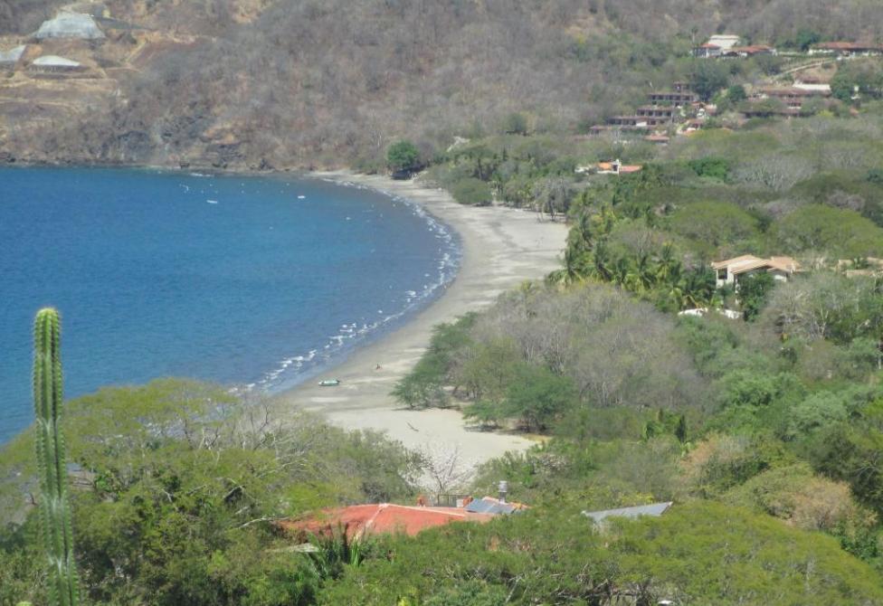 Playa Hermosa aerial view