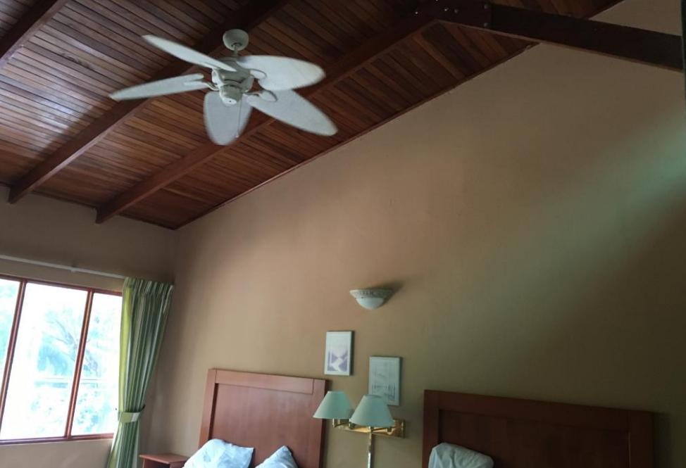 High Room Ceilings at El Velero Hotel
