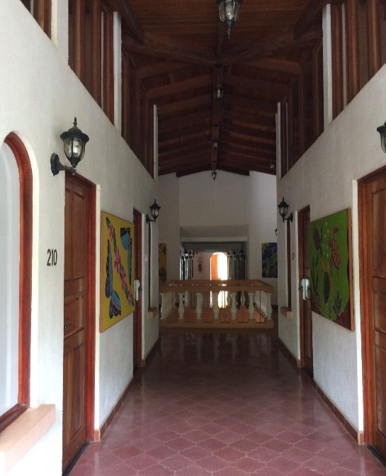 Upper Hallway at El Velero Hotel