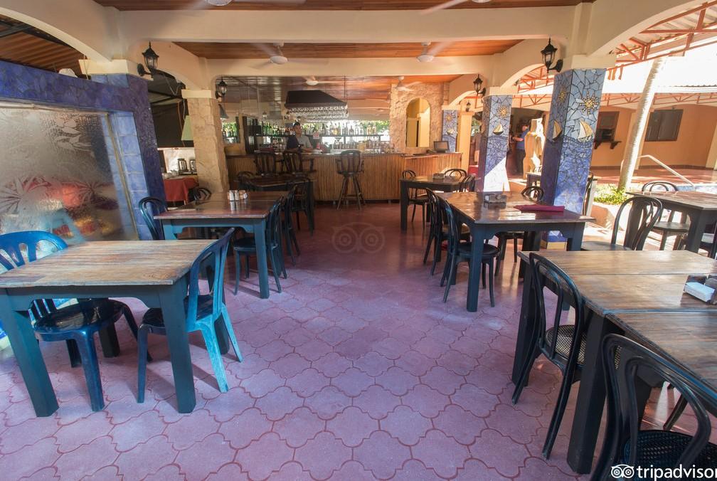 Hotel El Velero dining