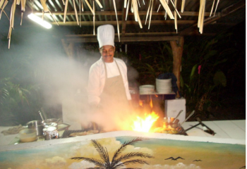 Barbecue Night at El Velero Hotel